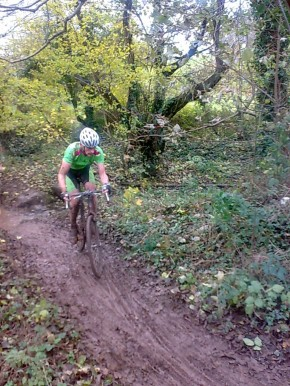 Old kit, old course, same sport. Cyclo-cross