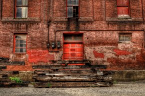 Red bricks by Keith Moyer