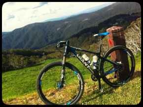 Giant 29er. Not Ian's but the same model. Original Image courtesy of 'Ky' on 'Ride with GPS'