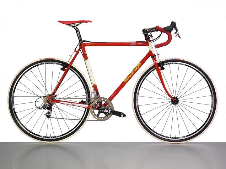 A Richard Sachs cyclo-cross frame.