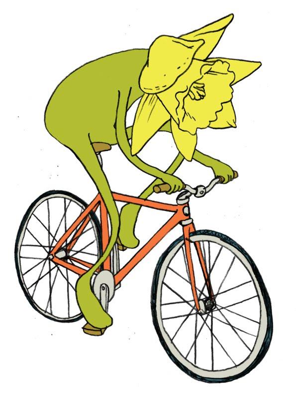 Daffodil bike
