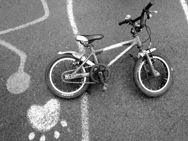 George's bike