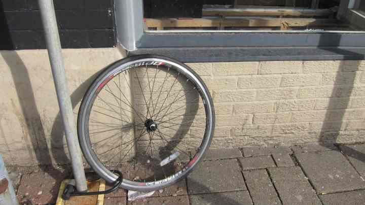 Locked wheel