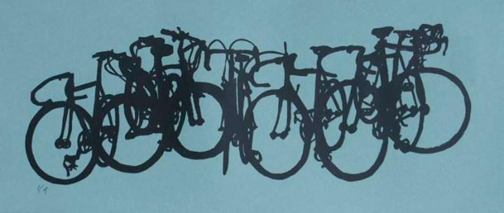 bikestack painting