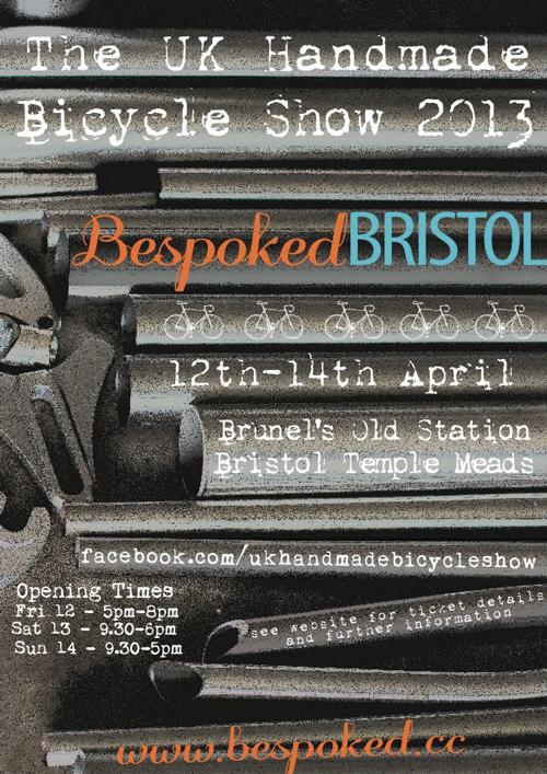 Bespoked Bristol poster