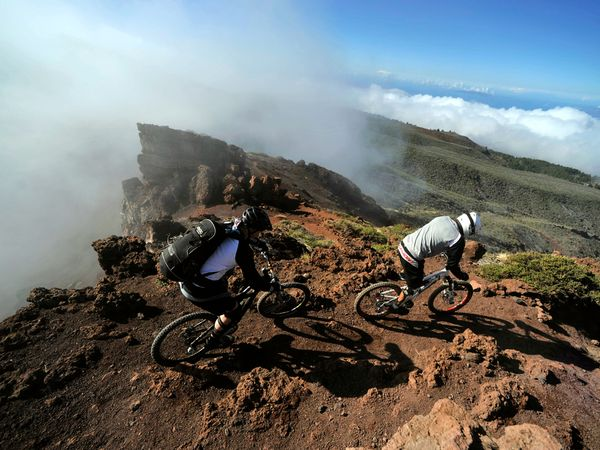 mountain bike la palma