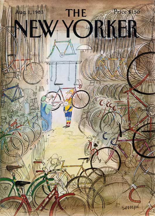 New Yorker cover 1983