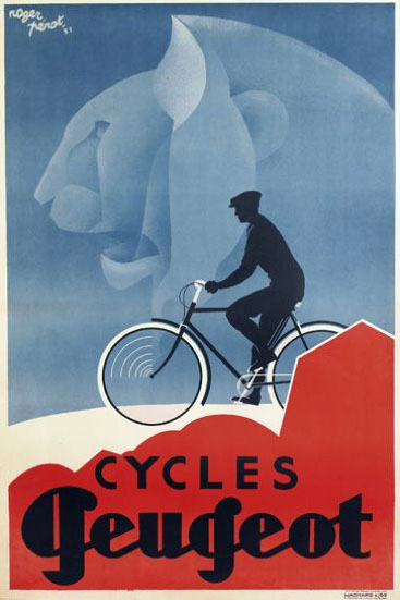 Vieilles affiches - Page 2 Peugeot-cycles