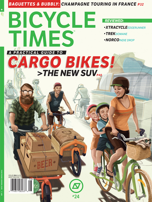 Bicycle times issue 24 cover