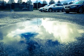Clouds in puddle 2-1806
