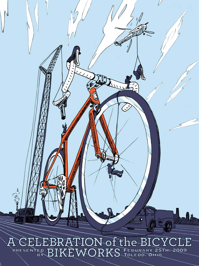 Cycle art by Joe Twelmyer