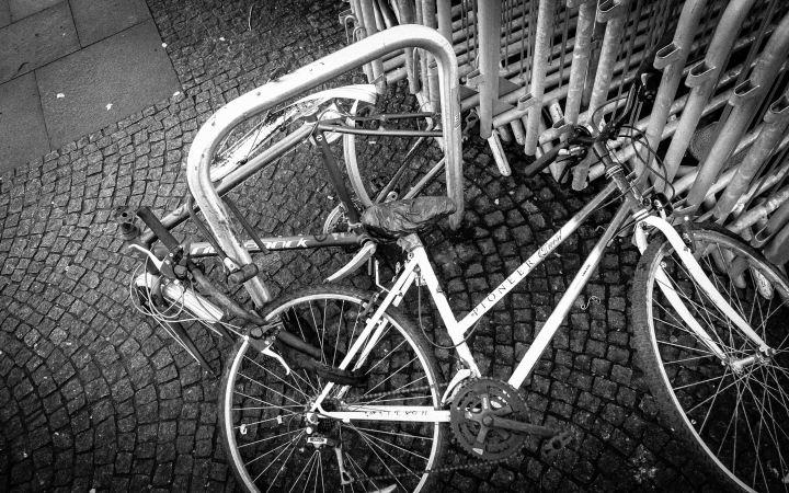 Tangle of bikes-1876