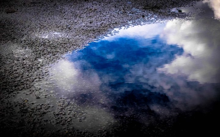 Clouds in puddle 2-1804